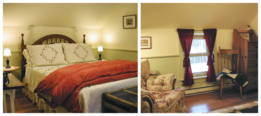 B&B guest room suite